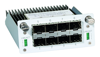 8 port GE SFP FleXi Port module