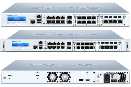 Sophos XG 430 Front and Back View