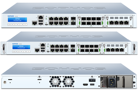 Sophos XG 450 Front and Back View